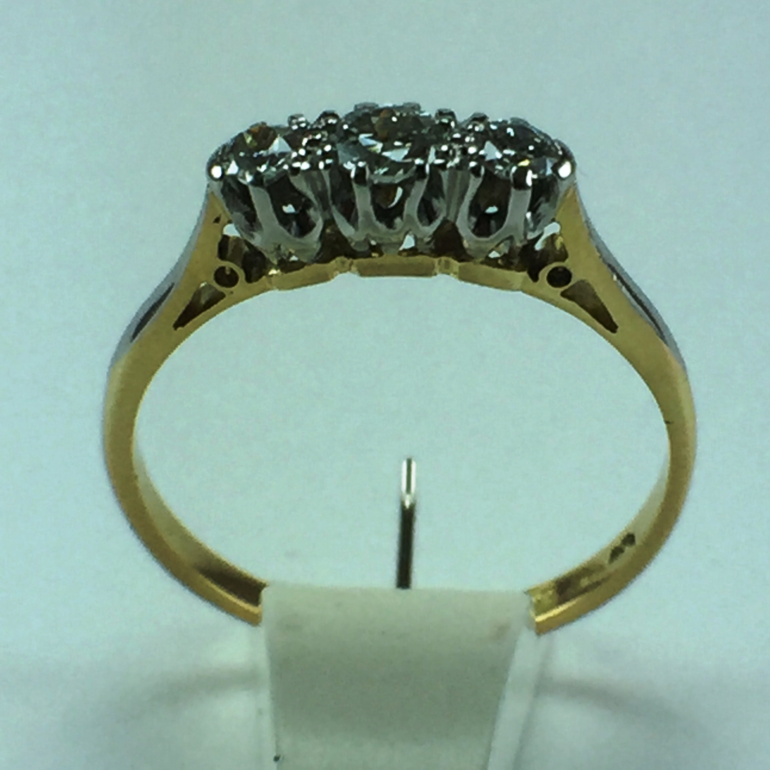 reticulated hand set rings buy m made band wedding matching and custom his crafted crazyassjewelry gold promise by silver